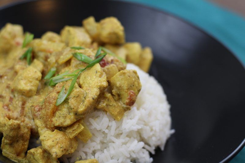 quick chicken curry closeup 2