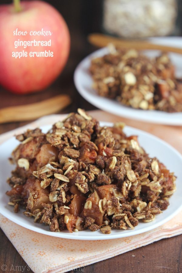 Gingerbread Apple Crumble
