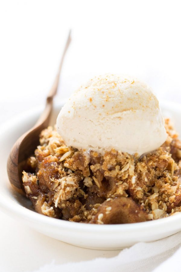 Quinoa Apple Crisp