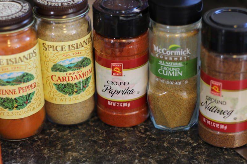 spices tikka masala