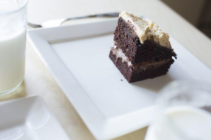 Food And Wine Chocolate Ganache Cake