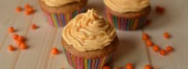 Quick Sea Buckthorn Cupcakes