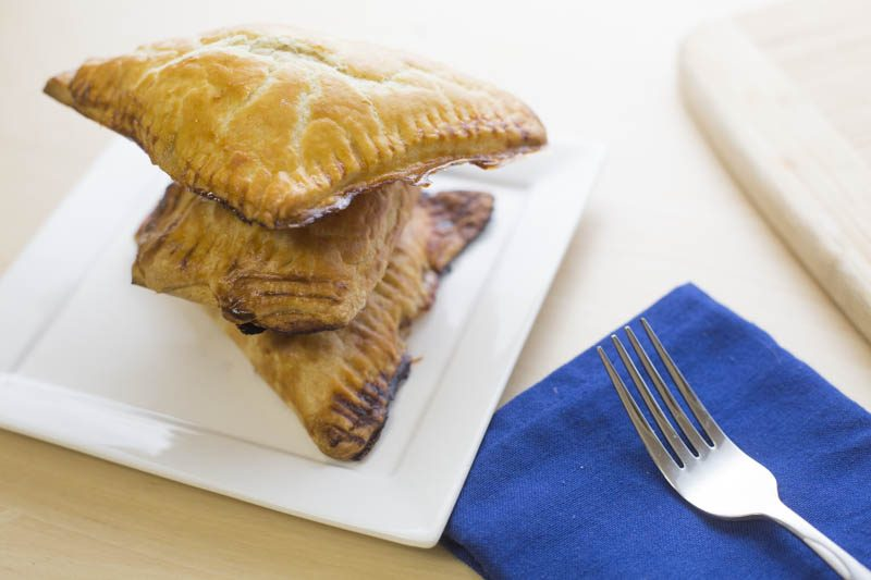 Apple Puff Pastry Turnover