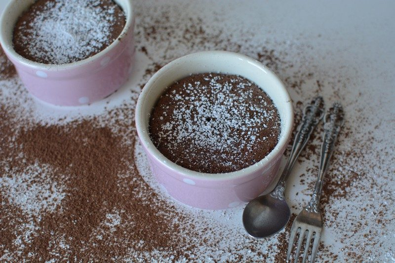 Quick & Easy Chocolate and Banana Souffle