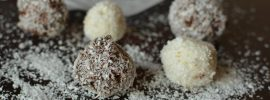 Quick & Easy Chocolate and Coconut Truffles