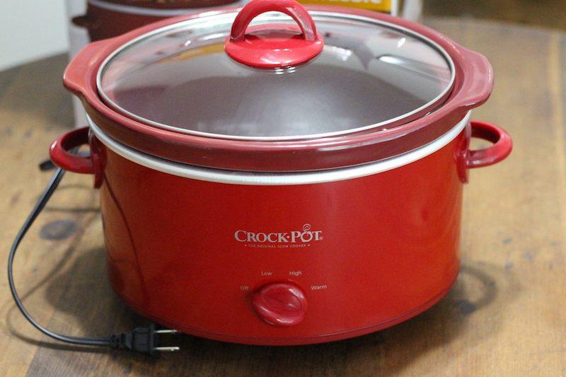 Crock-Pot 4 Quart Red top