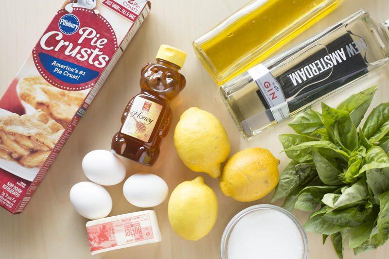 lemon-olive-oil-tart-basil-gin-granita-ingredients