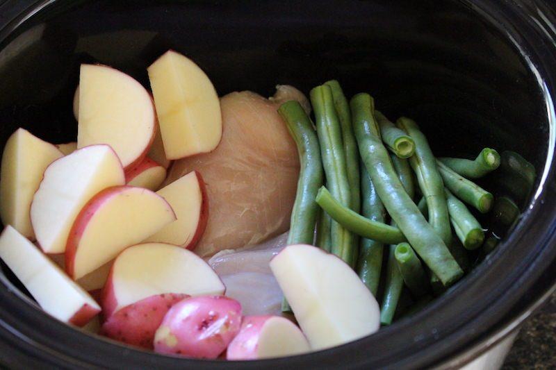 chicken green beans potatoes pilsner hamilton beach