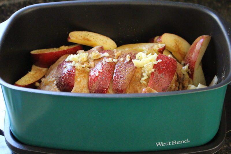 cinnamon apple pork loin roast west bend 2