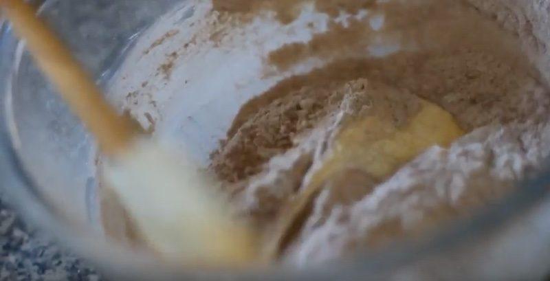 cmcc combine dry wet ingredients