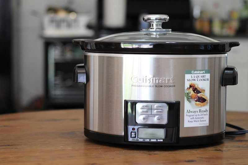 cuisinart slow cooker cuisinart 3 5 quart programmable cooker review 10785