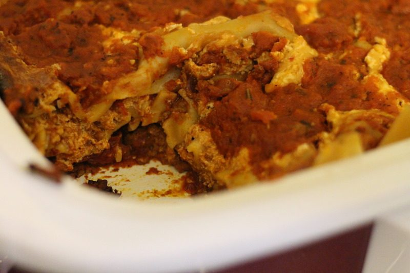 slow cooker lasagna final cut layers