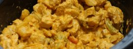 Slow Cooker Buffalo Chicken Mac and Cheese w/ Amber Ale