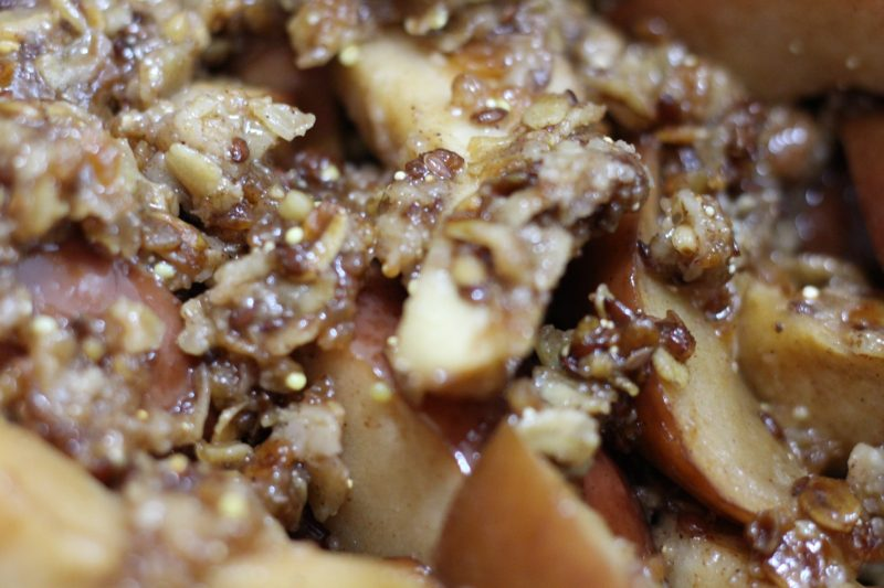 cinnamon-apple-granola-finished