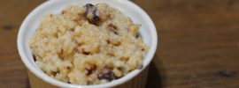 Slow Cooker Sweet Cinnamon Rice Pudding