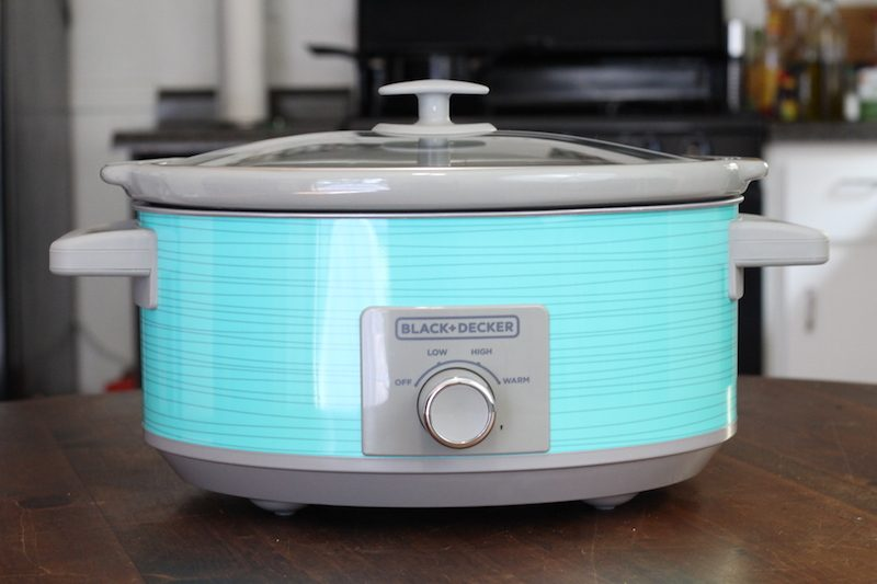 Black & Decker 7-Quart Dial Control Slow Cooker Review (Teal Wave)