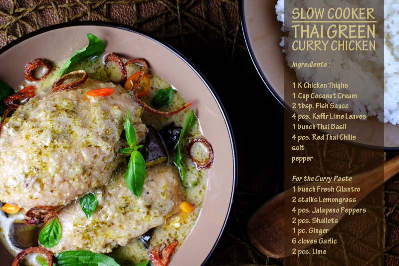 Slow Cooker Thai Green Curry Chicken Final 5