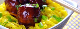 Slow Cooker Asian BBQ Meatballs