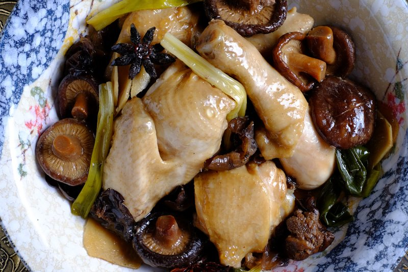 quick crock pot slow cooker chicken mushrooms