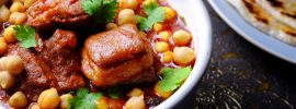 Slow Cooker Lamb and Chickpea Tandoori Stew