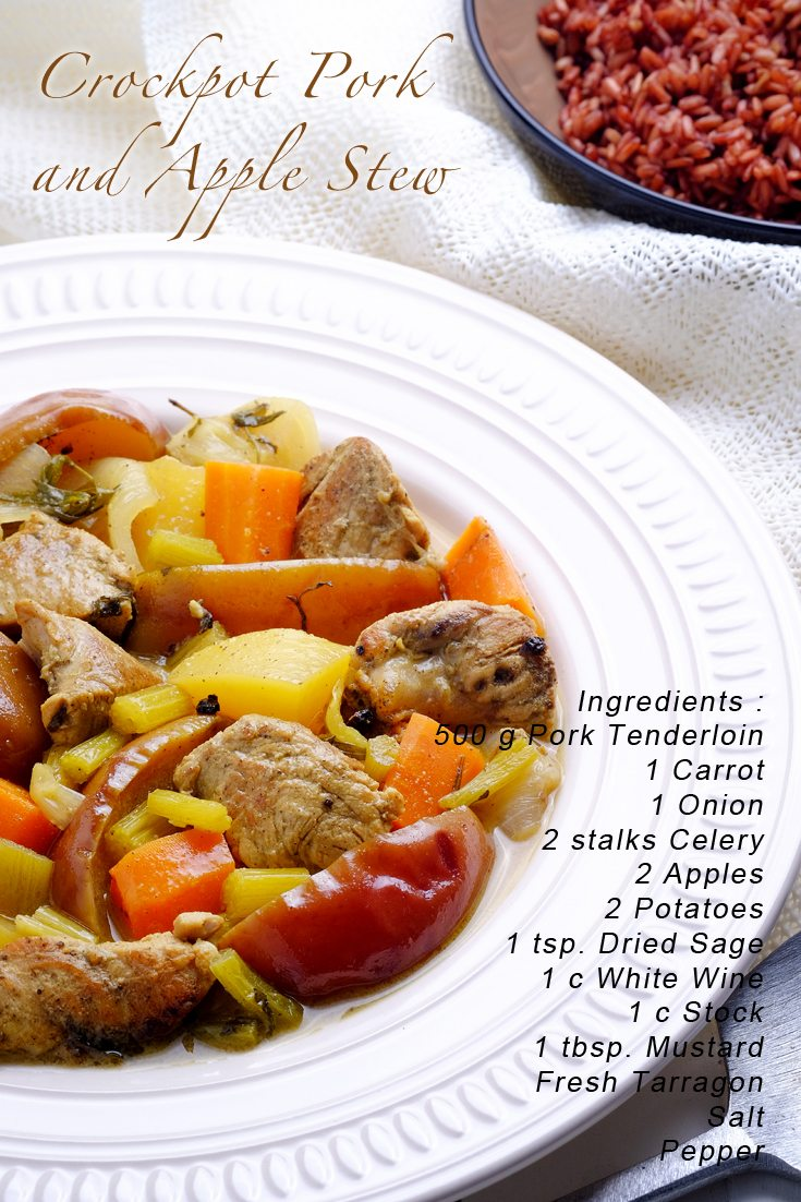 Slow Cooker Pork and Apple Stew PINTEREST