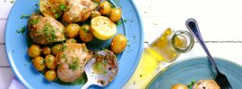 Slow Cooker Lemon Chicken and Potatoes