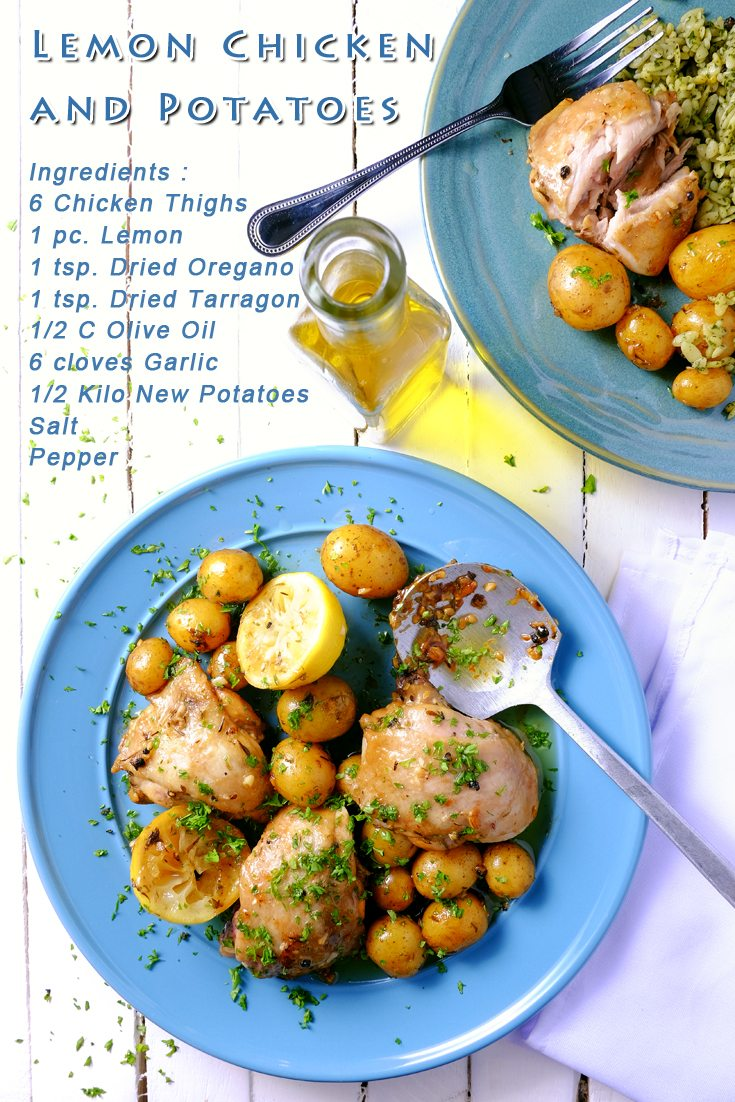 Slow Cooker Lemon Chicken and Potatoes PINTEREST