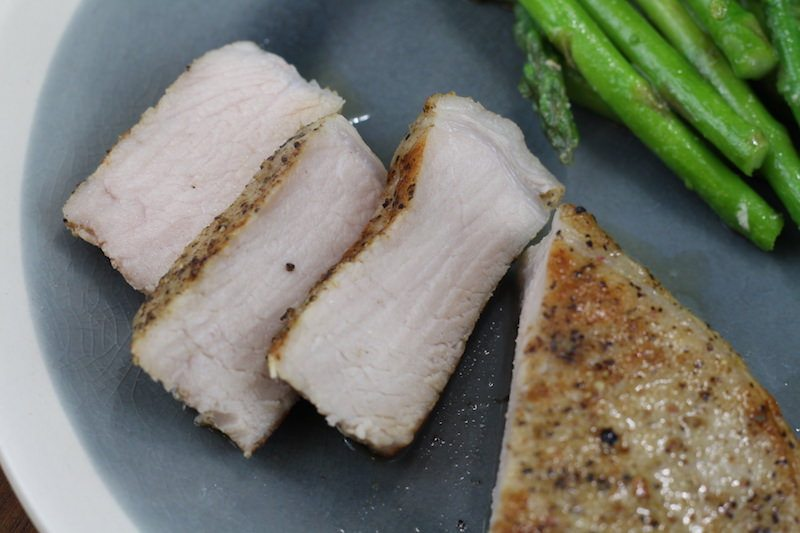 juicy sous vide pork chops