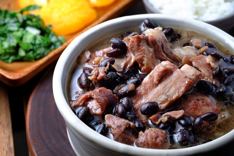 Slow Cooker Feijoada (with ribs, bacon, and sausage)