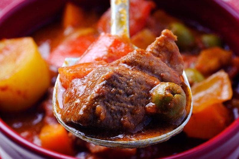 Slow Cooker Lamb Caldereta Recipe