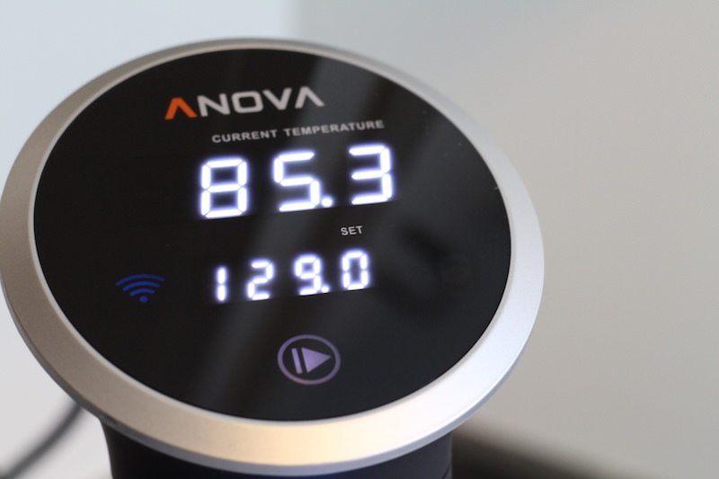 anova display cooking bluetooth