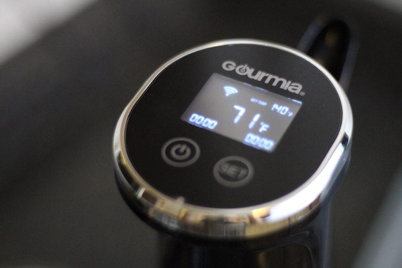 gourmia gsv150 ON digital timer