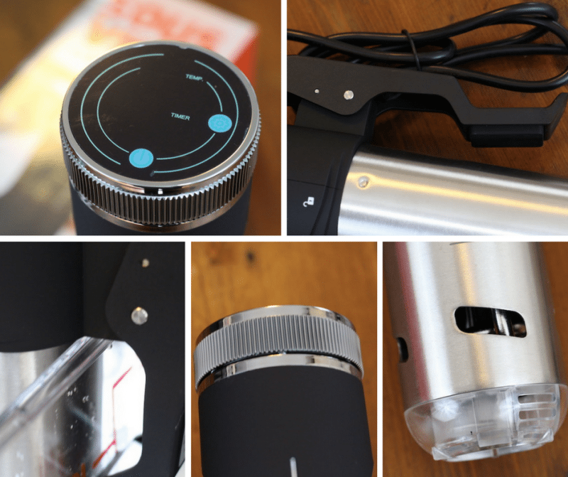 AdirChef Sous Vide Immersion Circulator Details
