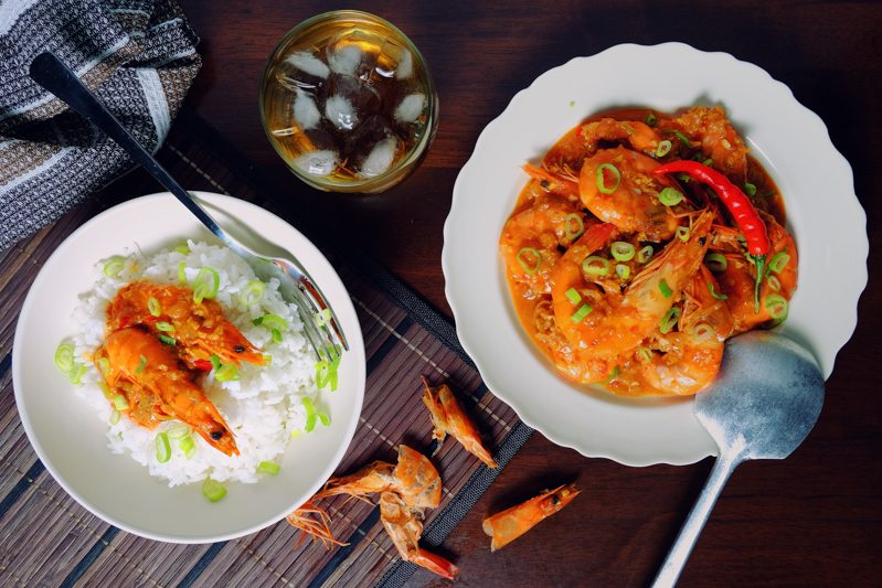 Slow Cooker Chili Prawns