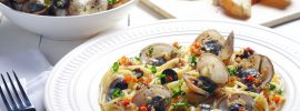 Slow Cooker Clam Puttanesca