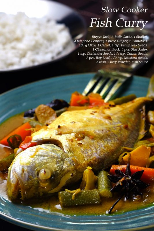 10 succulent slow cooker fish recipes for Fish slow cooker recipes