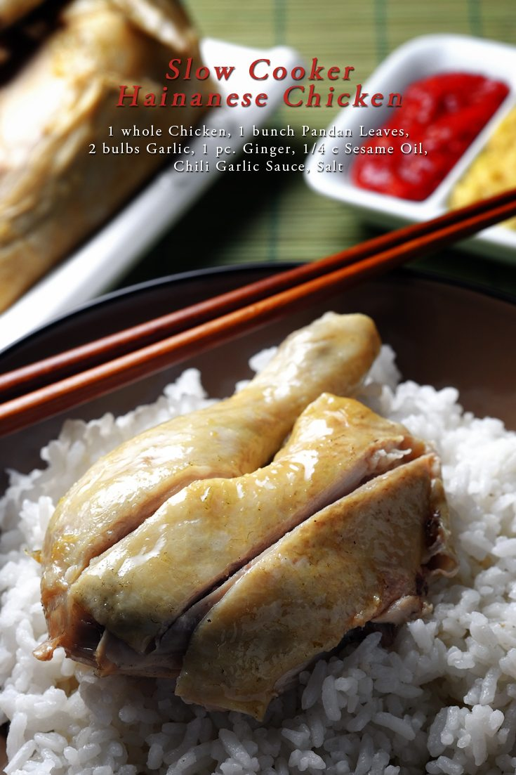 Slow Cooker Hainanese Chicken Recipe On Foodfornet Com