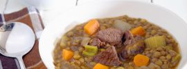 Slow Cooker Beef and Lentil Stew