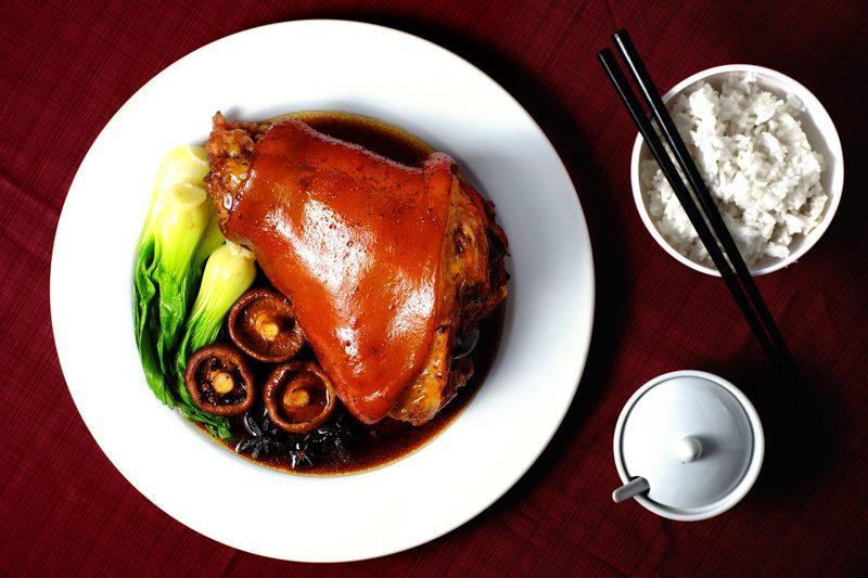 Slow Cooker Braised Pork Hocks