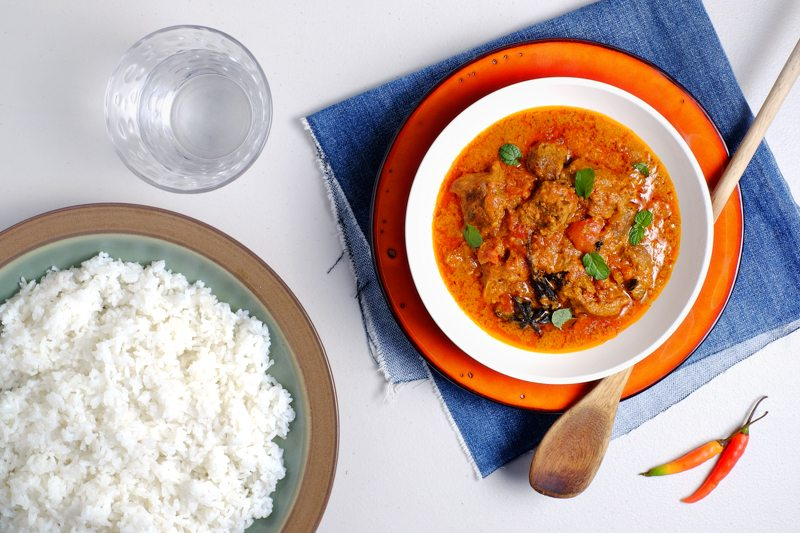 Slow Cooker Mutton Curry Recipe