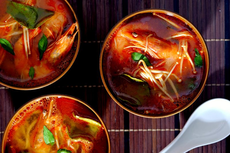 Slow Cooker Tom Yum Goong