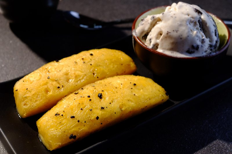 Black Pepper and Mint Sous Vide Pineapples Recipe