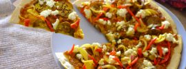 Chickpea Flour Pizza Dough Recipe