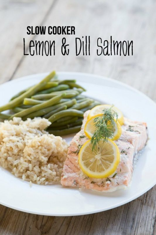 Slow-Cooker-Lemon-and-Dill-Salmon