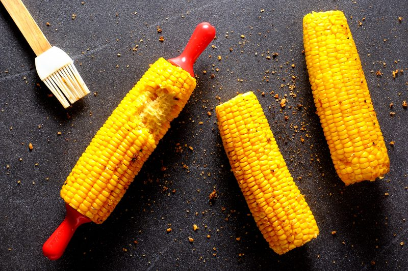 Sous Vide Smoky BBQ Butter Corn