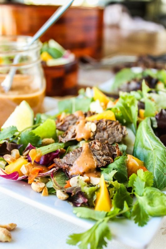 Thai-Steak-Salad-with-Peanut-Sauce