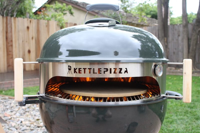 kettlepizza weber grill insert review backyard chef makes authentic neapolitan pizza. Black Bedroom Furniture Sets. Home Design Ideas