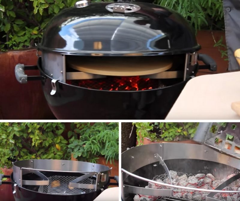 PizzaCraft PizzaQue Deluxe Kettle Grill Kit