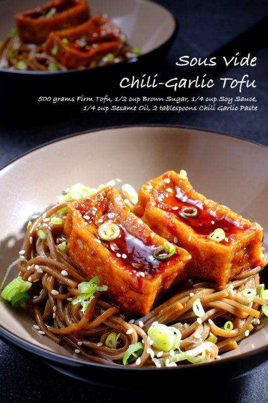Sous Vide Chili-Garlic Tofu