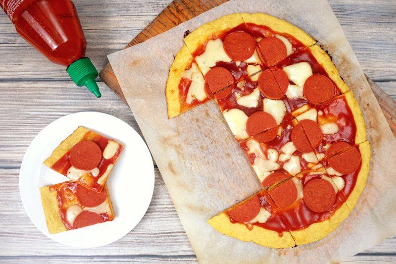 Lupin Flour Pizza Dough Recipe